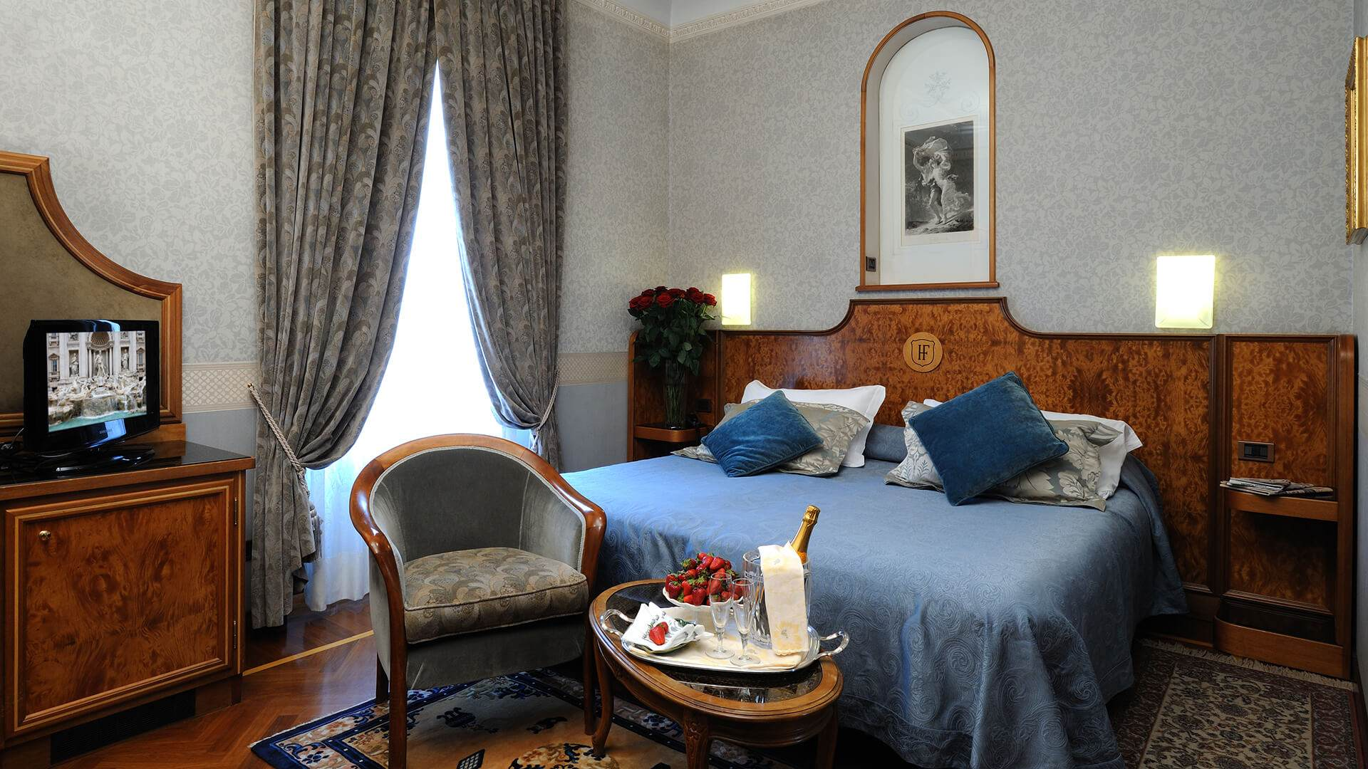 H tel de charme rome hotel farnese site officiel - Hotel de charme rome ...
